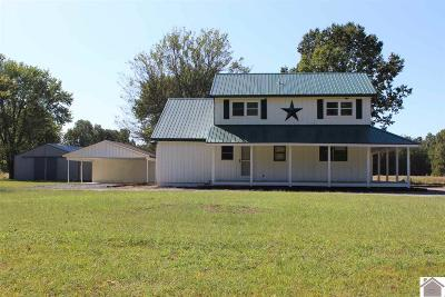 Paducah Single Family Home For Sale: 3855 Oaks Road
