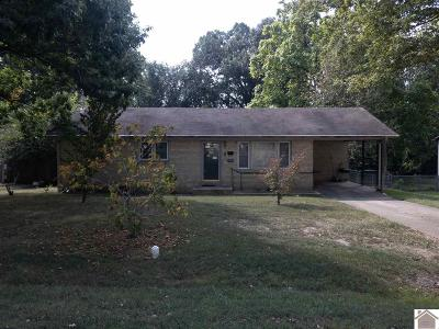 Murray Single Family Home For Sale: 1713 Calloway Ave