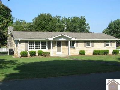 Cadiz KY Single Family Home For Sale: $119,900