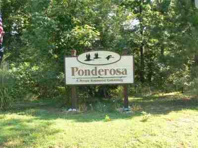 Benton Residential Lots & Land For Sale: Ponderosa Subdivision