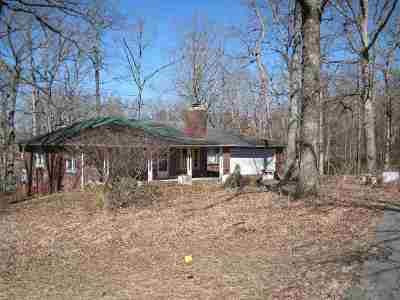 Murray, New Concord, Grand Rivers, Benton, Gilbertsville Single Family Home For Sale: 12020 Us Hwy 68e
