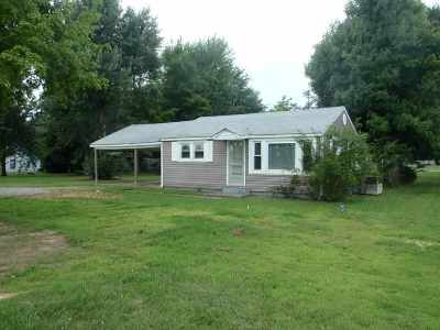 Benton Single Family Home For Sale: 2547 Us Hwy 641 North