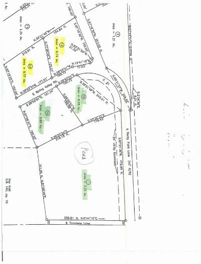 Residential Lots & Land For Sale: Lot 12 & 13 Rocky Point Ln.