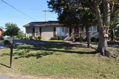 Smithland, Tiline Single Family Home For Sale: 215 Rudd St.