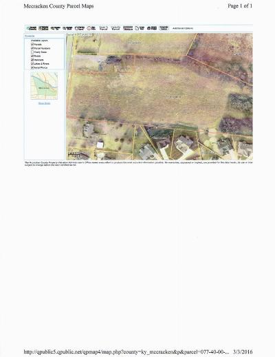 Paducah Residential Lots & Land For Sale: Holt Road