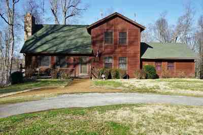 Eddyville Single Family Home For Sale: 105 Log Cabin Drive