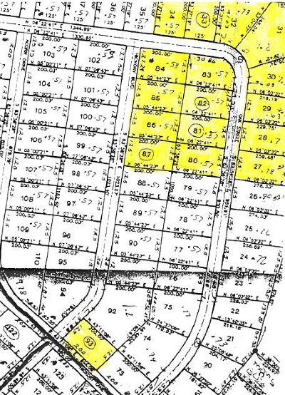 Residential Lots & Land For Sale: Caishay/Edgewood Drive