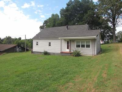 Benton KY Single Family Home For Sale: $52,000