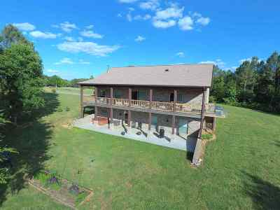 Murray, New Concord, Grand Rivers, Benton, Gilbertsville Single Family Home For Sale: 1275 Blood River Rd