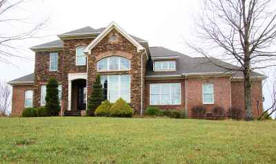 Paducah Single Family Home For Sale: 1229 Pillar Chase