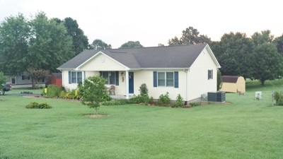 Eddyville Single Family Home For Sale: 117 Lake Scene Drive