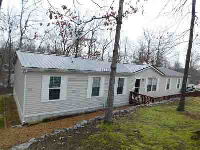 Grand Rivers Manufactured Home For Sale: 265 Ken Del Drive