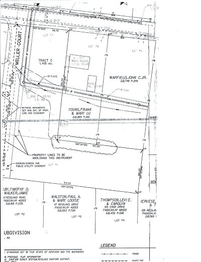Paducah Residential Lots & Land For Sale: Tract C Miller Dr