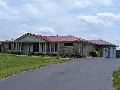 Cadiz Single Family Home For Sale: 4355 Hopkinsville Road