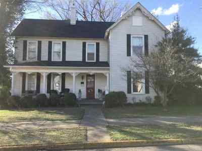 Princeton Single Family Home For Sale: 205 N Seminary Street