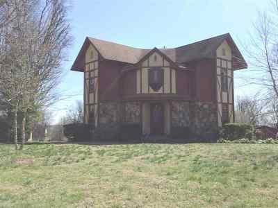 Princeton Single Family Home For Sale: 803 S Jefferson Street