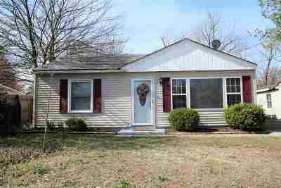 Paducah Single Family Home For Sale: 1009 N 32nd