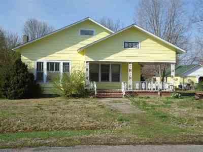 Hazel Single Family Home For Sale: 304 Calloway Street