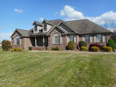 Benton Single Family Home For Sale: 134 Elwood Gordon Dr.