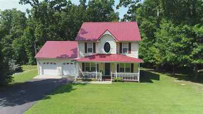Gilbertsville KY Single Family Home For Sale: $175,000