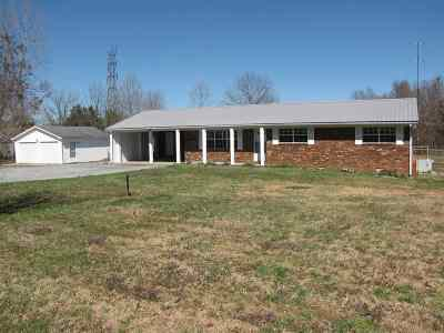 Calvert City KY Single Family Home For Sale: $125,000