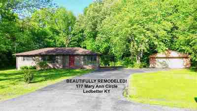 Ledbetter Single Family Home Contract Recd - See Rmrks: 177 Mary Ann Circle