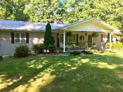 Eddyville Single Family Home For Sale: 90 Dow Road