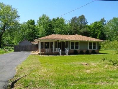 Gilbertsville Single Family Home For Sale: 2523 Gilbertsville Hwy