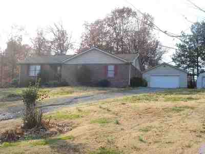 Benton Single Family Home For Sale: 2710 Dogtown Rd.