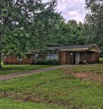 Dexter KY Single Family Home For Sale: $105,000