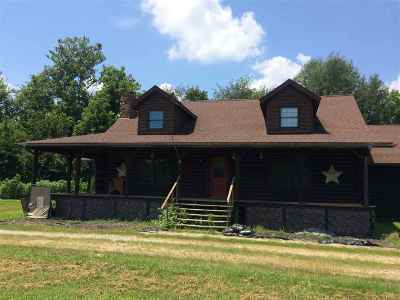 McCracken County Single Family Home For Sale: 10255 Old Hinkleville Road