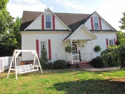 Calvert City KY Single Family Home For Sale: $84,900