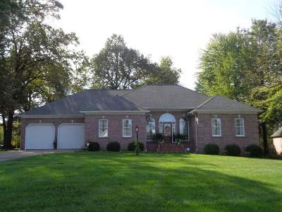Paducah Single Family Home For Sale: 62 Barrington Circle