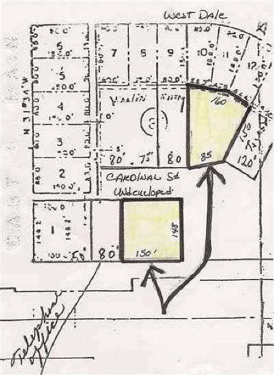 Residential Lots & Land For Sale: Cardinal Dr