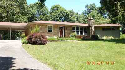 Calvert City Single Family Home For Sale: 555 Riley Circle
