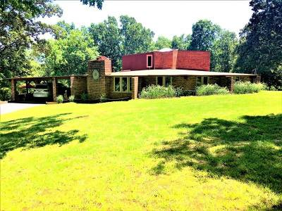 Calvert City Single Family Home For Sale: 9755 W Hwy 62