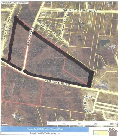 Paducah Residential Lots & Land For Sale: Elmdale Road
