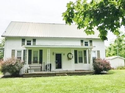 Kuttawa Single Family Home For Sale: 1809 St Rt 93 North