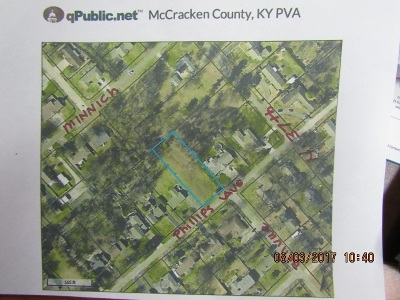 McCracken County Residential Lots & Land For Sale: Phillips Ave.