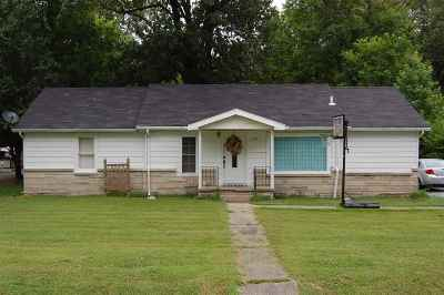Paducah KY Single Family Home For Sale: $65,000