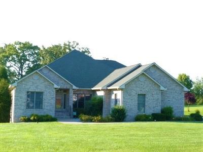 Cadiz Single Family Home For Sale: 186 Caney Creek