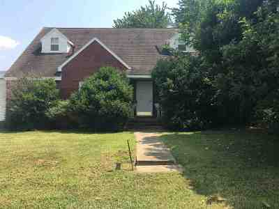 Ballard County Single Family Home For Sale: 103 E Kentucky Drive