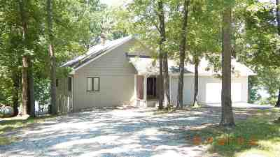Murray, New Concord, Grand Rivers, Benton, Gilbertsville Single Family Home For Sale: 126 Flagmast Lane