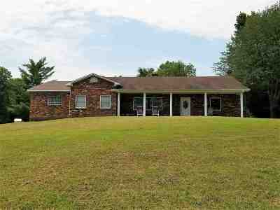 Paducah Single Family Home For Sale: 4909 Old Benton Road