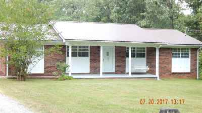 Benton Single Family Home For Sale: 161 Woodland Dr