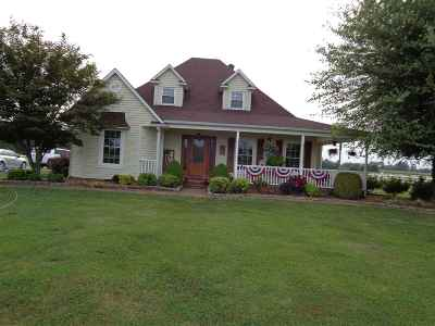 Mayfield Single Family Home For Sale: 3539 Central Rd