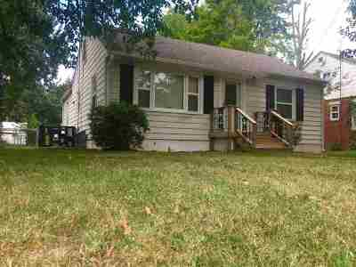 Paducah Single Family Home Contract Recd - See Rmrks: 727 N 25th St.