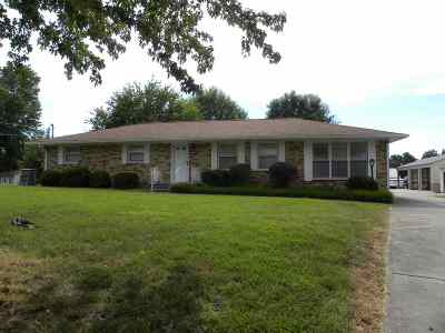 Paducah Single Family Home Contract Recd - See Rmrks: 505 Bryant Ford Road