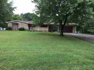 Murray Single Family Home For Sale: 1555 Coles Campground Road