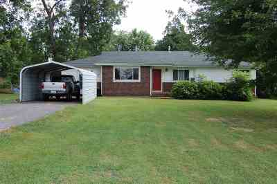 Calvert City Single Family Home For Sale: 6963 U.s. Hwy 68 W